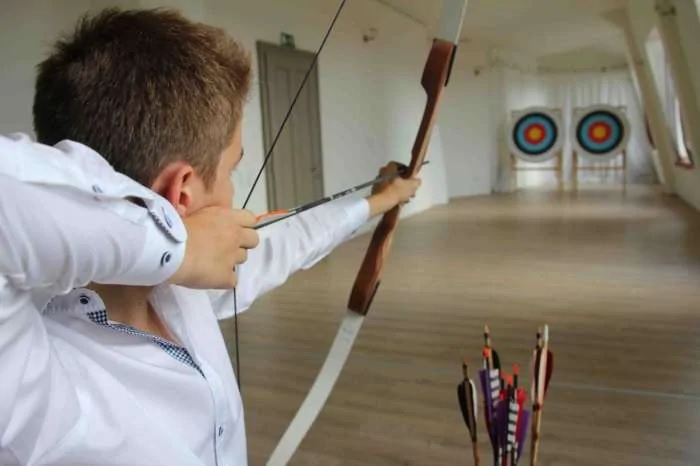 Athletic of Archery in Different Style