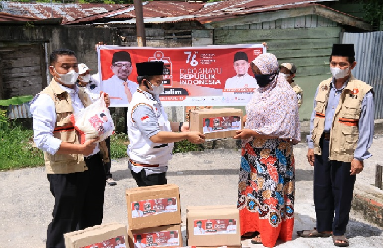 Momentum of the 76th Indonesian Independence Day