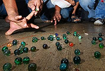 Playing Marbles for Having Children Social Interactions